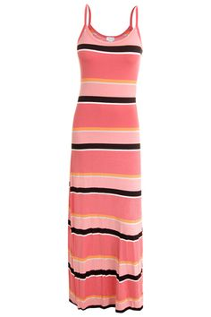 Dynamite This dress is long and flowy and the stripes are terrific. @Metropolisatmet #Findwhatyoulove