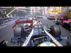 F1 2012 Monaco Grand Prix Official Race Edit