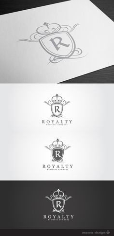 Royalty Logo on the Behance Network