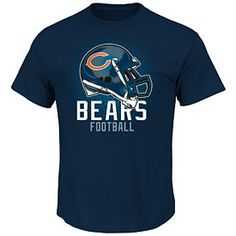 Get this Chicago Bears Rival Vision IV T-Shirt at ChicagoTeamStore.com