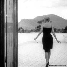 Monica Vitti in my favorite movie L'Avventtura by Michelangelo Antonioni.