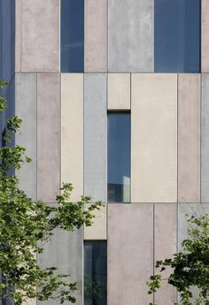Stunning Glass Facade Building and Architecture Concept 56 - architektur Concept Architecture, Facade Architecture, Contemporary Architecture, David Chipperfield Architecture, Amazing Architecture, Precast Concrete Panels, Concrete Facade, Concrete Building, Reinforced Concrete