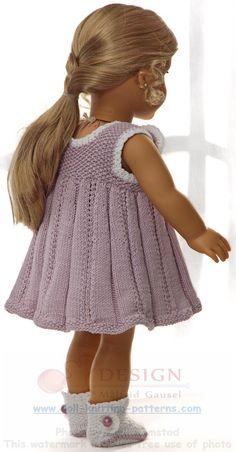 Puppenkleidung stricken