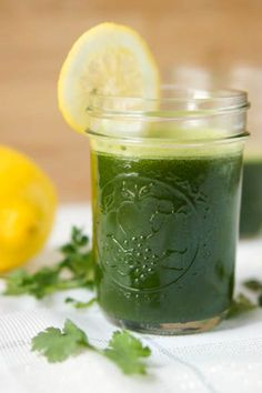 Green Energy Smoothie from Citron Limette