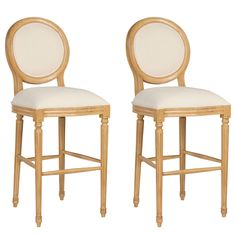 Grantley Artisan Clean Bar Stool Set of 2 @LaylaGrayce