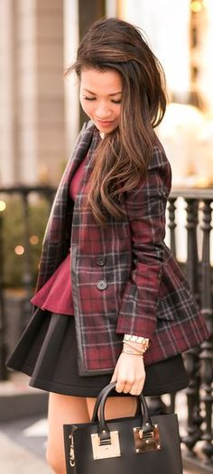 Plaid X Two :: #Casual Days & Date Nights by Wendy's Lookbook => Click to see what she wears