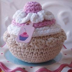 Bolos crochet padrão por e-mail - Bolos e Tartes Crochet