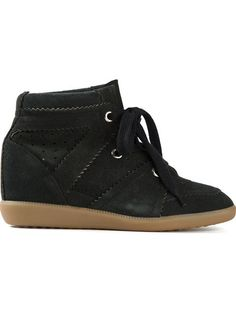 Isabel Marant 'BOBBY' CONCEALED WEDGE SNEAKERS
