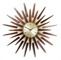 Retro family room:   Newgate Clocks - The Official Store - Pluto Clock