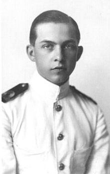 Prince Paul of Greece - (12/1901-3/1964) Later to become King Paul of Greece. Third son of King Constantine I of Greece and Sophia of Prussia.  He lived in exiled a great deal of his life, but returned to Greece in 1946, and in 1947 succeeded to the throne on the death of his childless elder brother King George II.  Married Frederika of Hanover.  They had three children Sophia future queen of Spain, Constantine II, future King of Greece and Princess Irene. He reigned from 1947 to 1964.