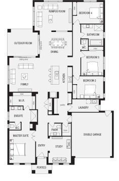 Fortitude, New Home Floor Plans, Interactive House Plans - Metricon Homes - South Australia.  Nice floor plan