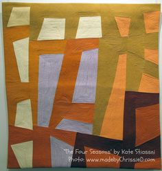 made by ChrissieD: Kate Stiassni - 'Spaces in Between': Contemporary Textile NYC Exhibition