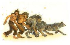 Werewolf change.  It happens.