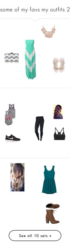 """""""some of my favs my outfits 2"""" by jordynlandholm ❤ liked on Polyvore featuring beauty, LE3NO, Sophia Webster, Edie Parker, interior, interiors, interior design, home, home decor and interior decorating"""