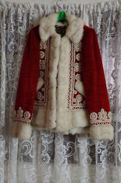 Amazing handmade coat, finished with  fantastic beadwork.