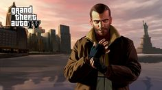 GTA IV Niko Bellic. I have passed this game multiple times, there is just something about this game. Must be this certain movie look during gameplay, it has a lot of action if you know how to handle the driving,shooting,etc