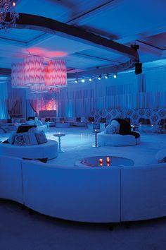 Location: The Ritz-Carlton Naples, Naples, FL; Event Design: Preston Bailey, New York, NY; Furniture: Nüage Designs, Miami, FL; Lighting: Frost Lighting, Boca Raton, FL; Photography: Matt Horton, The Artist Group c/o Grace Ormonde Wedding Style
