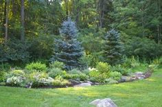 Landscaping companies design your front yard landscape,garden design home garden landscaping flower beds,landscaping lawn maintenance large decorative garden rocks. Burm Landscaping, Natural Landscaping, Privacy Landscaping, Outdoor Landscaping, Front Yard Landscaping, Outdoor Gardens, Landscaping Ideas, Yard Privacy, Modern Gardens