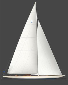 Yacht design by Sparkman & Stephens.