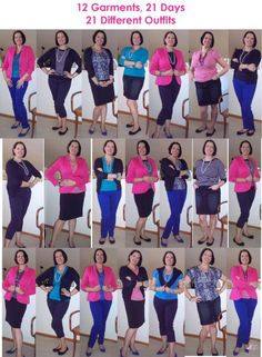 how to create a capsule wardrobe -- applies to sewing as well