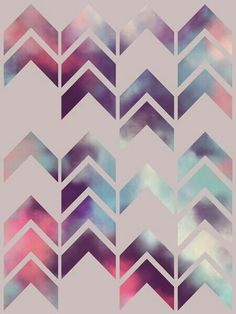 """Chevron Dream,"" by Beth Thompson. Great pattern and colors for graphic design inspiration! Backgrounds Wallpapers, Cute Wallpapers, Pretty Backgrounds, Textures Patterns, Print Patterns, Motif Tropical, Poster S, Decoration Inspiration, Decor Ideas"