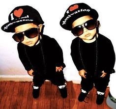 my son will dress like this all swagged out