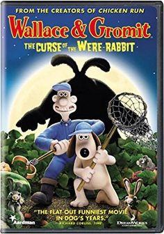 Peter Sallis & Helena Bonham Carter & Nick Park & Steve Box-Wallace & Gromit: The Curse of the Were-Rabbit Kid Movies, Family Movies, Funny Movies, Movie Tv, Disney Movies, Cartoon Movies, Disney Art, Clay Animation, Dreamworks Animation