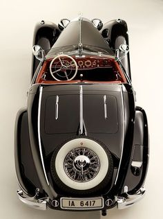 The 1936 Mercedes 540K Special Roadster