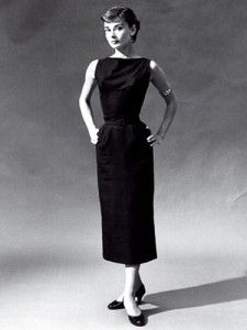 "The first image that pops up when you google ""classic fashion."" An image of Audrey I've never seen before. Beautiful. Love the arm bracelet."