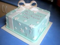 Baptism Cakes For Boys