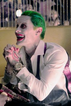 "harleyquinnsquad: ""  ♦ The Joker in the new high resolution images from Suicide Squad """