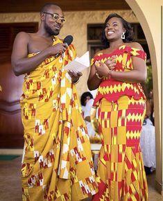 African Wedding Dress, Wedding Dresses, Ghana Traditional Wedding, Engagements, Wedding Styles, Sari, Plus Size, Fashion, Ghana Wedding