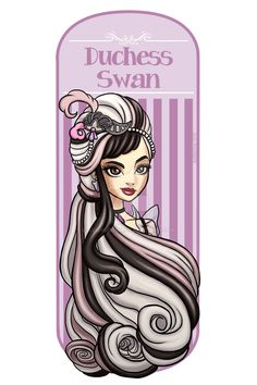 Duchess Swan by AvieHudson.deviantart.com on @DeviantArt