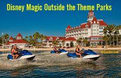 Disney Magic Outside the Walt Disney World Theme Parks