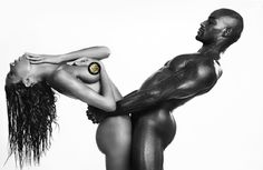 FAB Editorial: Tyson Beckford and Ines Rau Go Naked for OOB