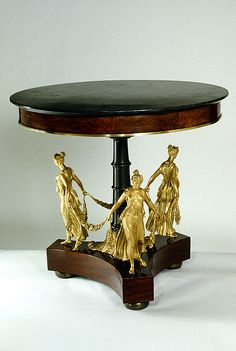 Jacob-Desmalter & Co. Gueridon, France 1801-1813.