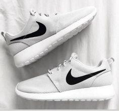 NIKE Women Men Running Sport Casual Shoes Sneakers Grey