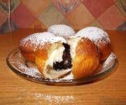 Pączki z patelni - PrzyslijPrzepis.pl Hamburger, Bread, Food, Brot, Essen, Baking, Burgers, Meals, Breads