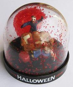 creepy snowglobes | Halloween Snow Globe - what is seen cannot be unseen