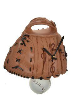 Baseball Wall Clock.