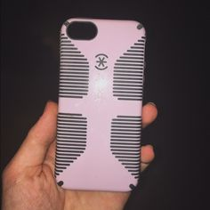 Light pink speck iPhone 5 case Candy she'll speck case for iPhone 5! Beautiful baby pink color, pictures have trouble doing it justice (especially the last one). Slim case but great protection! Open to offers :) Speck Accessories Phone Cases
