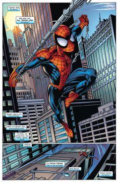 Resultado de imagen para the amazing spiderman mark bagley peter Spiderman Tattoo, Spiderman Art, Amazing Spiderman, Marvel Fan Art, Marvel Dc Comics, Marvel Heroes, Spiderman Civil War, Marvel Ultimate Spider Man, Mark Bagley