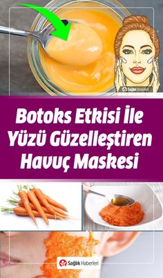Carrot Mask Recipe Beautifying Your Face with Botox Effect! Best Hair Conditioner, Best Dry Shampoo, Homemade Shampoo, Home Remedies For Pimples, Home Remedies For Hair, Oily Scalp, Oily Hair, Carrot Mask, Natural Hair Removal