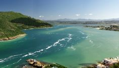 Knysna Lagoon (and I live here! Knysna, River, Spaces, Outdoor, Outdoors, Outdoor Games, The Great Outdoors, Rivers