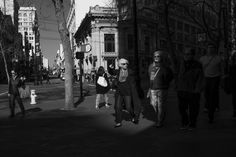 Study in Shadow and Light I: Market Street (San Francisco) by Jim Watkins on 500px