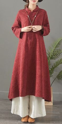 Red And Blue Casual Cotton Linen Maxi Dresses For Women 1388 – Linen Dresses For Women Casual Summer Dresses, Trendy Dresses, Spring Dresses, Simple Dresses, Women's Fashion Dresses, Linen Dresses, Women's Dresses, Cotton Dresses, Dance Dresses