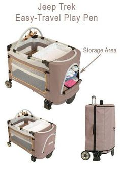 Jeep Trek Easy-Travel Play pen