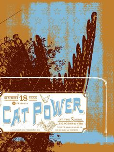 Cat Power / print by eyenoise