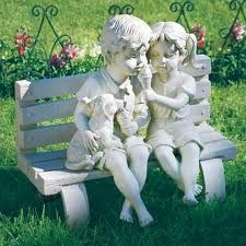 outdoor garden ornaments - Google Search, picture only