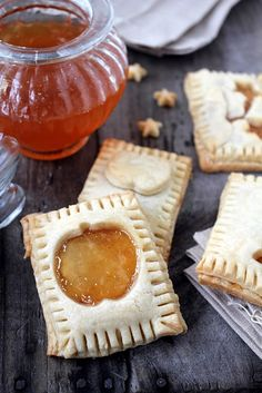 Five Spice Cider & Buttermilk Pop Tarts - I wish I had the courage to make my own pop tarts!